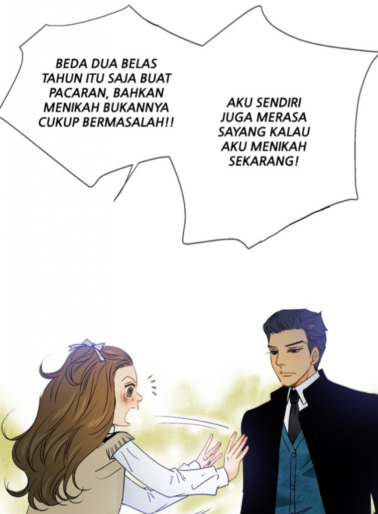 Line Webtoon - Menikah dengan Guru di Honey Honey Wedding