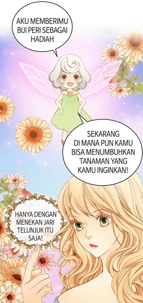 Line Webtoon - Wendy the Florist