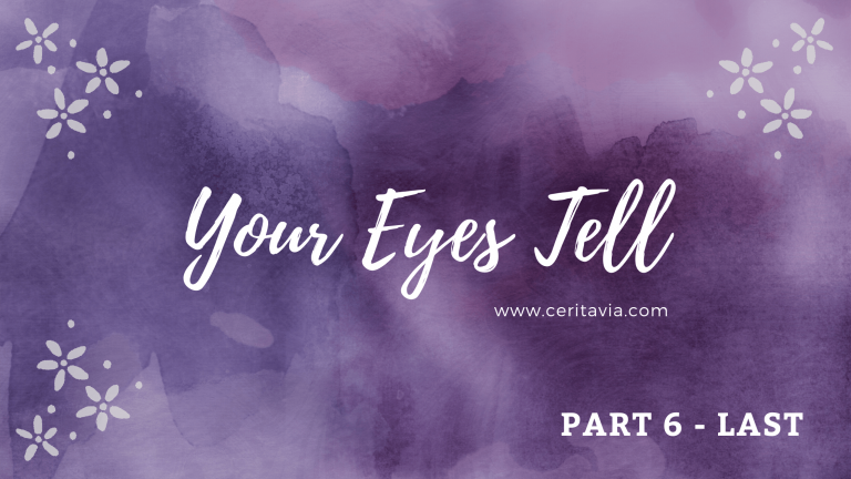 [PART 6 – LAST] Your Eyes Tell